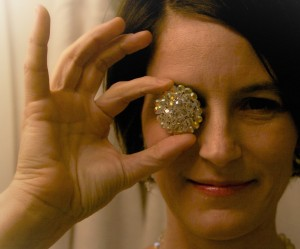 sparkle power project gem on eye