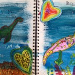 Cricket Desmarais, Mixed Media Art & Art Journaling with Children